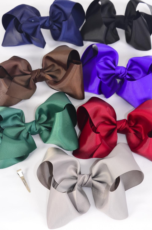 Fall Assorted Jumbo Bows