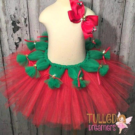 Jingle Bell Tutu - Tulled Dreamers