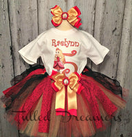 Apple White Tutu Outfit - Tulled Dreamers