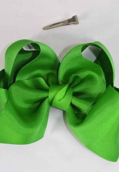 Emerald Green Jumbo Bow