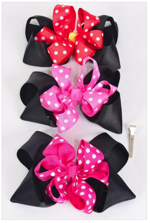 Minnie Mouse Loop Bows