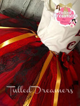 Lizzie Hearts Tutu Outfit - Tulled Dreamers