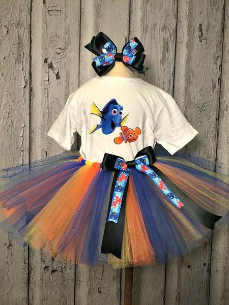 Dory and Nemo Tutu - Tulled Dreamers