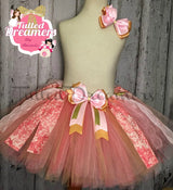Coral Rose Tutu - Tulled Dreamers