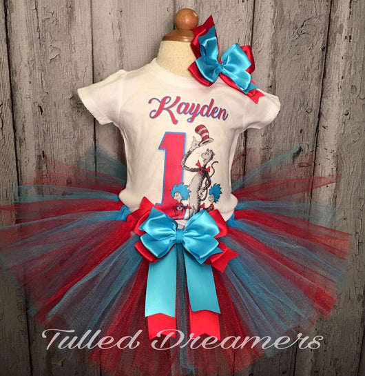Dr Seuss Tutu Outfit - Tulled Dreamers