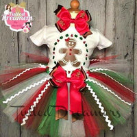 Gingerbread Girl Tutu Outfit - Tulled Dreamers