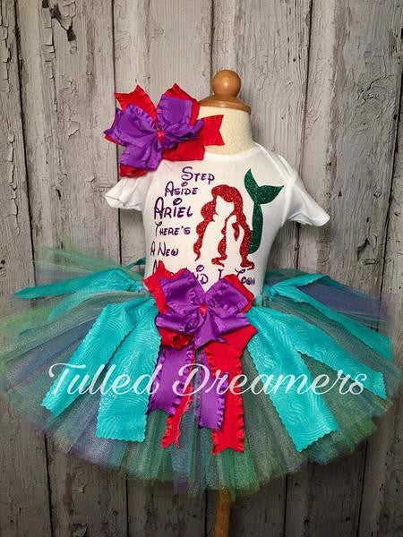 Ariel Little Mermaid Tutu Outfit - Tulled Dreamers