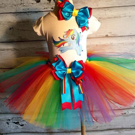 Rainbow Dash Tutu Outfit - Tulled Dreamers
