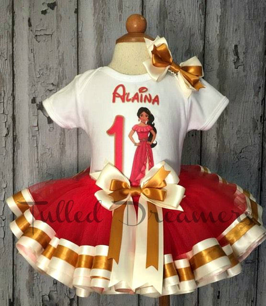 Elena Of Avalor Birthday Outfit - Tulled Dreamers