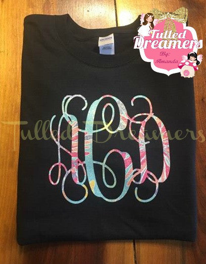 Lilly Inspired Monogram Shirt