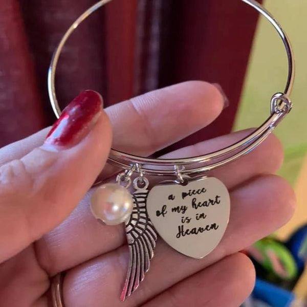 Heaven Heart Bangle