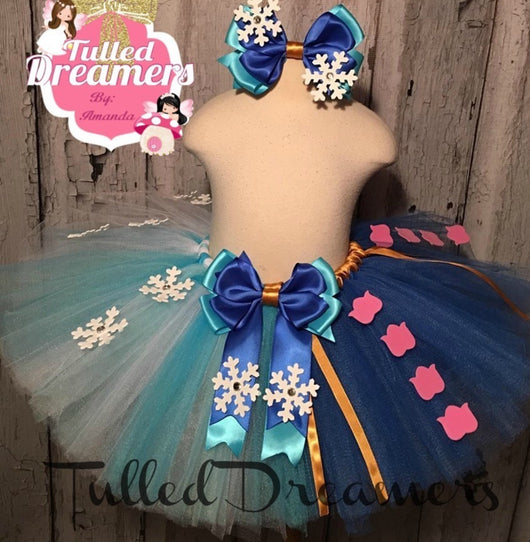 Frozen Anna and Elsa Tutu - Tulled Dreamers