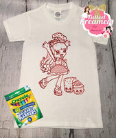Coloring Book Shirt - Tulled Dreamers