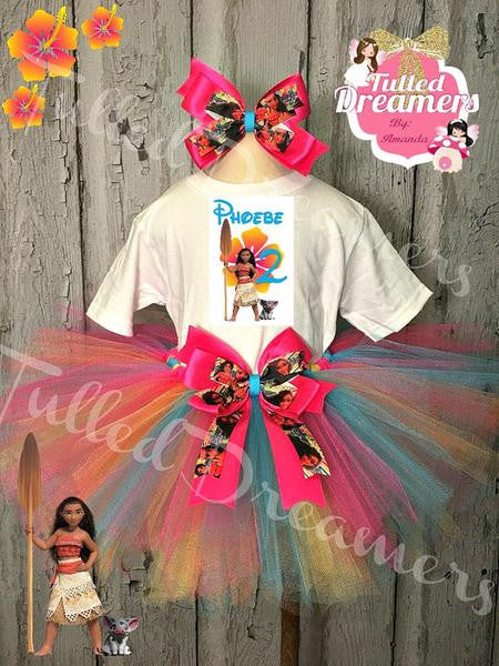 Moana Tutu Outfit - Tulled Dreamers