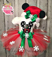 Mickey And Minnie Mouse Tutu - Tulled Dreamers