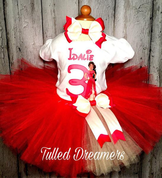 Elena Of Avalor Tutu Outfit - Tulled Dreamers