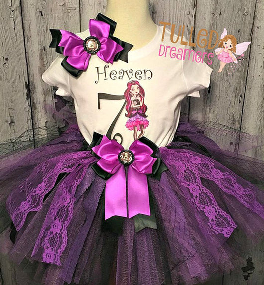 Raven Queen Tutu Outfit - Tulled Dreamers