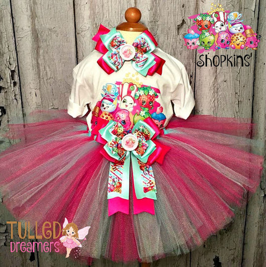 Shopkins Tutu - Tulled Dreamers