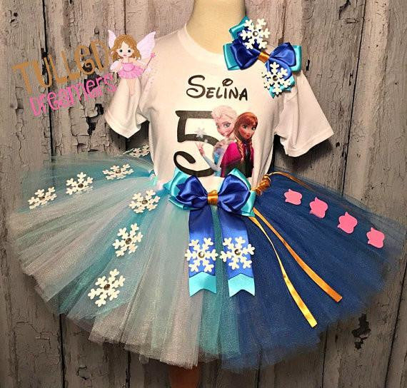 Elsa and Anna Tutu Outfit - Tulled Dreamers