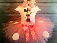Minnie Mouse Pink Tutu Outfit - Tulled Dreamers