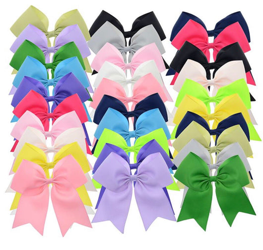 Custom School Mascot Cheer Bows