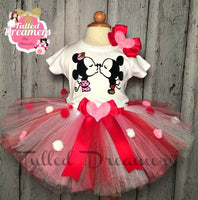Mickey Mouse Valentine's Tutu - Tulled Dreamers