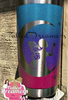 Ombre Moonlight Fairy Tumbler
