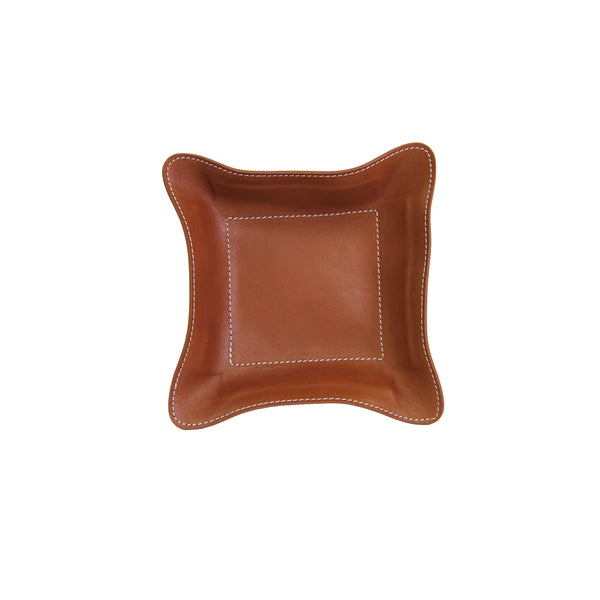 Desk Caddy - Saddle Leather