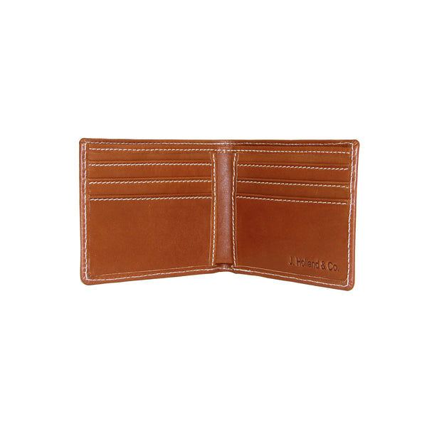 BiFold Wallet - Saddle Leather