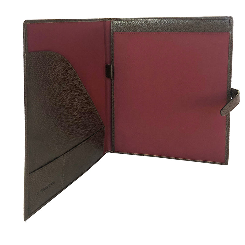 iPad Folio - Stout Pebble Leather