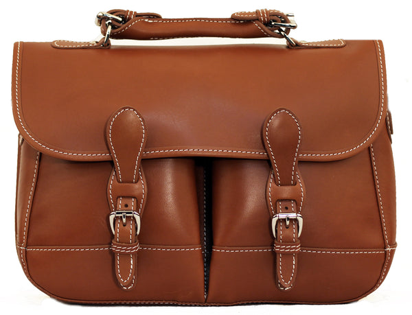 River Bag - Saddle Leather
