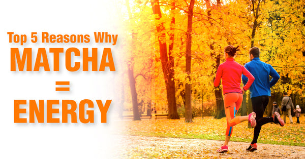 Top 5 Reasons Why Matcha Provides Energy