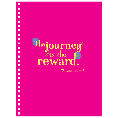 Notebooks -- The journey is the reward