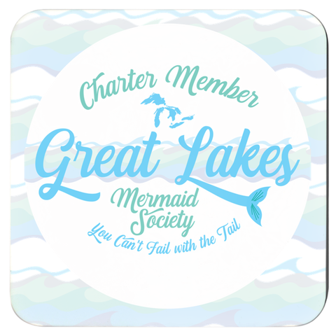 Great Lakes Coasters - Great Lakes Mermaid Coasters - Charter Member Great Lakes Mermaid Society