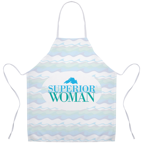 Great Lakes Apron -- Lake Superior Apron - Superior Woman Apron