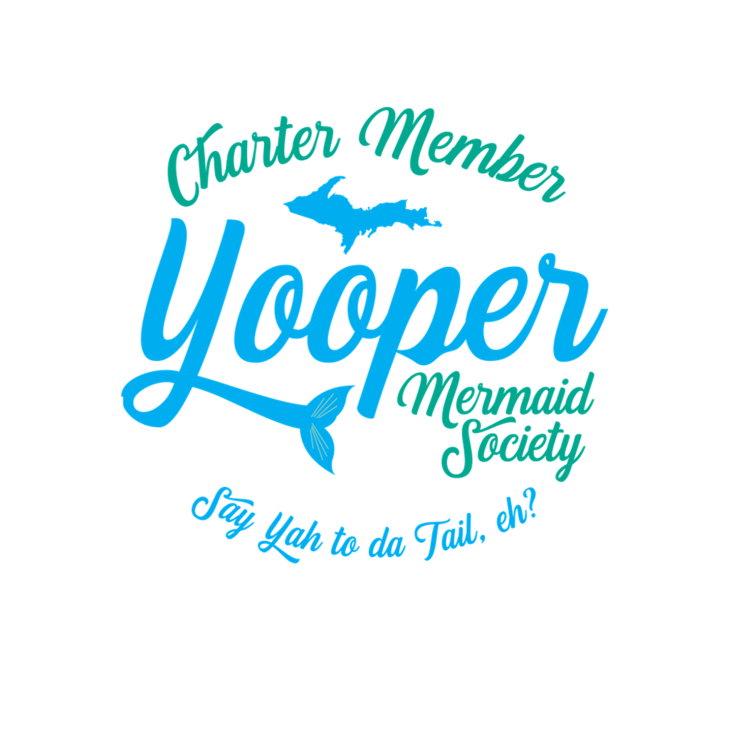 Yooper Notebook - Upper Peninsula Notebook - Charter Member Yooper Mermaid Society Notebook