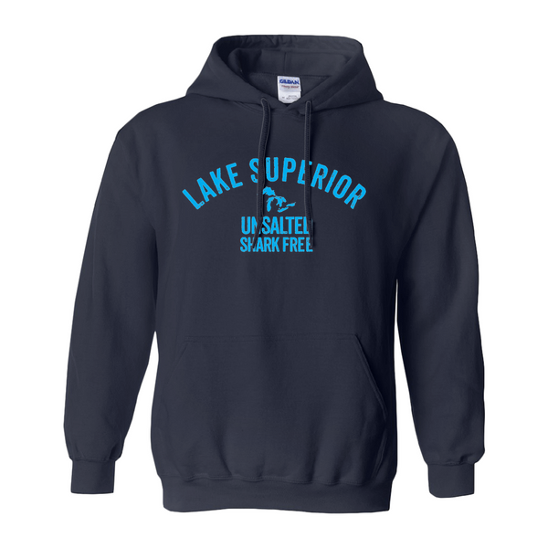 Lake Superior Unsalted Shark Free Unisex Hoodies (No-Zip/Pullover)