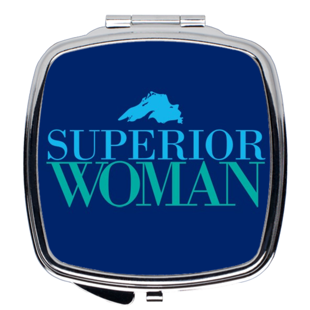 Superior Woman Compact Mirror