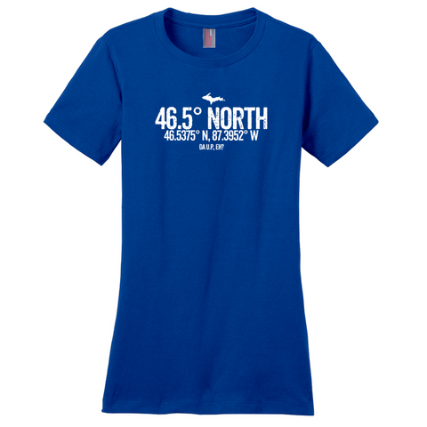 46.5 Degrees North Women's T-Shirts