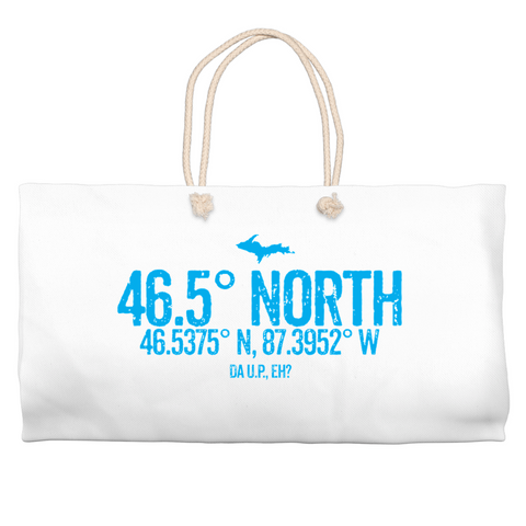 46.5 Degree North Weekender Totes