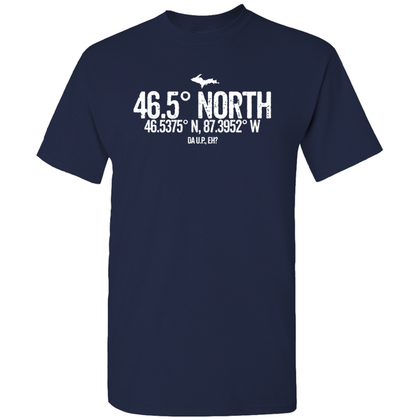 46.5 Degrees North Men's / Unisex T-Shirts