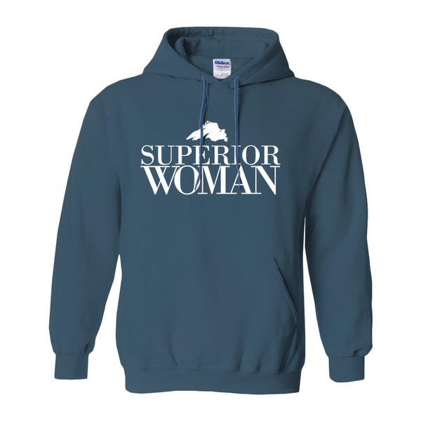 Superior Woman Hoodies (No-Zip/Pullover)