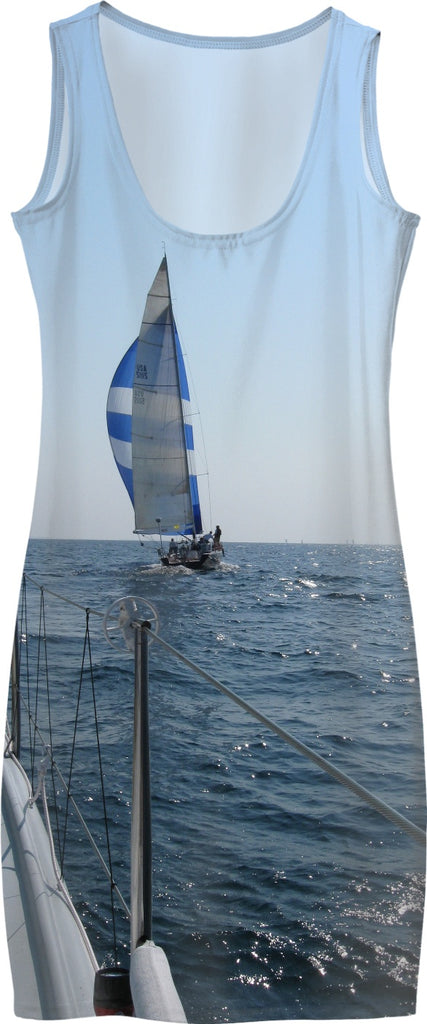 Sailboat Dress - Great Lakes Sailing Dress