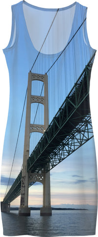 Mackinac Bridge Dress