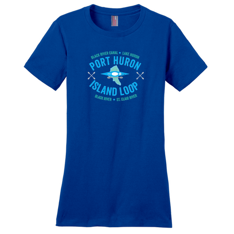 Port Huron Island Loop Women's T-Shirts