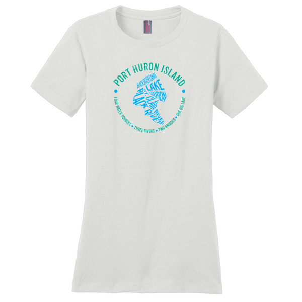 Port Huron Island Women's T-Shirts