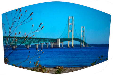 Mackinac Bridge Face Mask