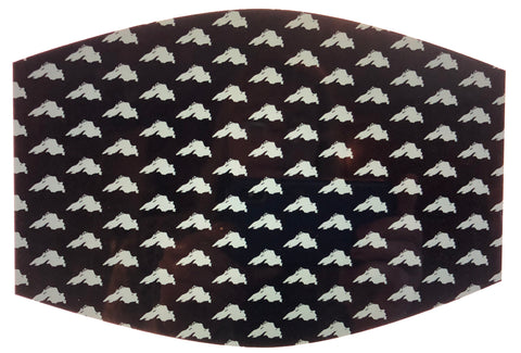 Lake Superior Pattern Face Mask