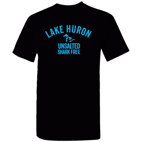 Lake Huron Unsalted Shark Free Men's / Unisex T-Shirts