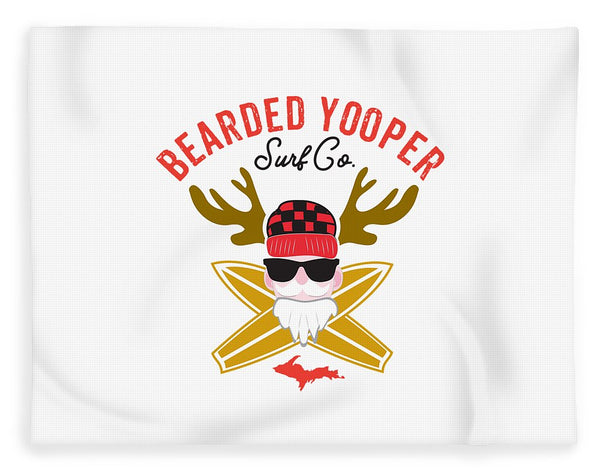 Yooper Blanket -- Upper Peninsula Blanket - Bearded Yooper Surf Co. - Blanket